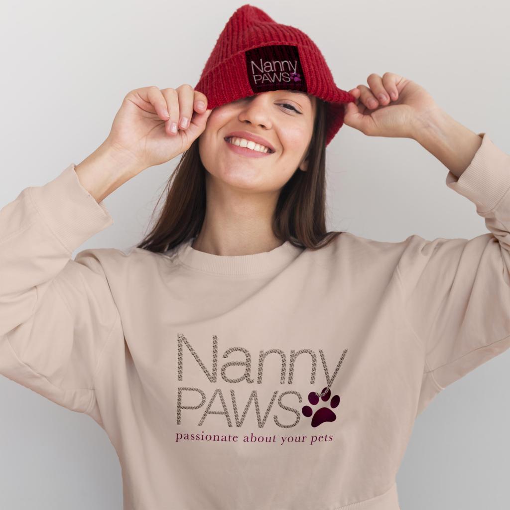 nanny paws branding design newcastle