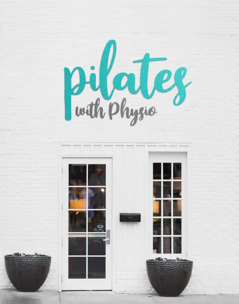 pilates logo branding design services newcastle