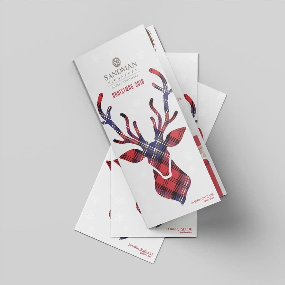 christmas leaflet design services newcastle
