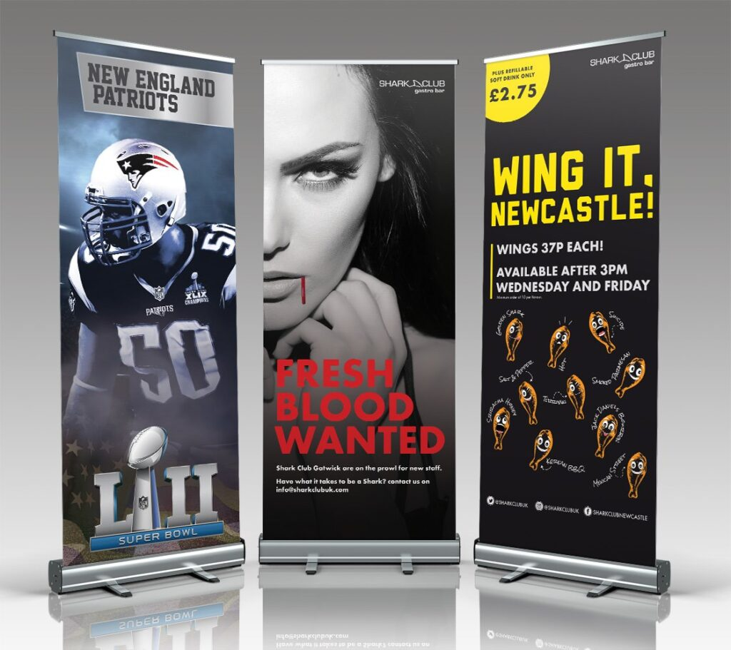 exhibition pull up banners newcastle