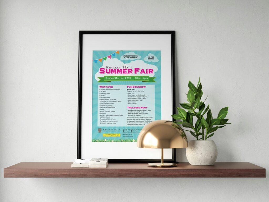 poster design services newcastle