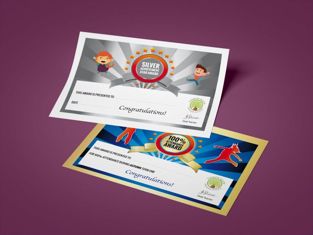 school certificate design services newcastle
