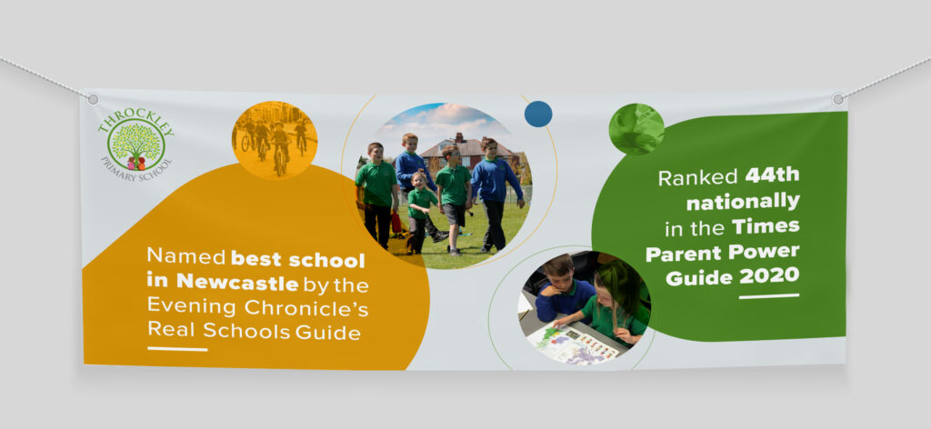 scool outdoor banner design services newcastle